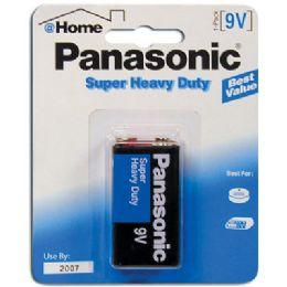 48 of Panasonic Batteries Super Heavy Duty 9 Volt/1pk