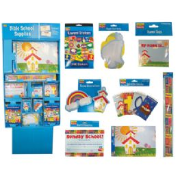 160 of Christian School Stationery Supply Center Display - Wall Banners/certificates/wall Borders/paper CuT-Outs/reward Stickers/decorations/pads