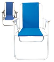 6 of Beach Chair 17 X 19 X 31 Inch Assorted Colors
