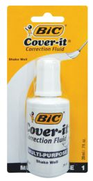 72 of Bic Wite Out 0.70 Oz With Brush Applicator
