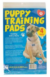 24 of Puppy Training Pads 4pk 22.5 X 22.5 Inches