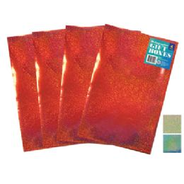 48 of Holographic Gift Box 4 Pk 11 X 8.5 X 1.5 Inch Small Assorted Colors