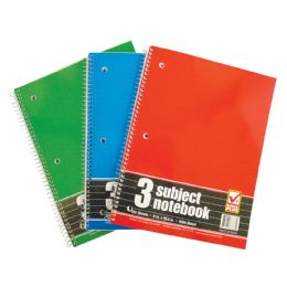 48 of Spiral Notebook 3 Subject 120 Sheet 10.5 X 8 Inch Wide Ruled