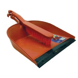 24 of Dustpan And Brush Set 13 X 8.5 Inch Assorted Colors