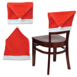 12 of Santa Hat Chair Cover
