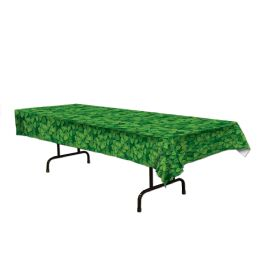 12 of Shamrock Tablecover plastic