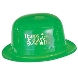 48 of Plastic Happy St Patrick's Day Derby one size fits most