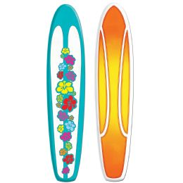 12 of Jointed Surfboard Prtd 2 Sides W/different Designs