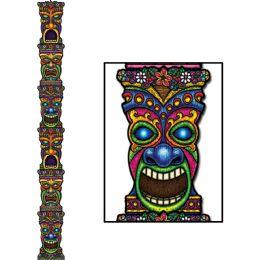 12 of Jointed Tiki Totem Pole Prtd 2 Sides