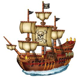 12 of Jointed Pirate Ship Prtd 2 Sides