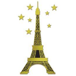12 of Jointed Foil Eiffel Tower Foil/prtd 1 Side