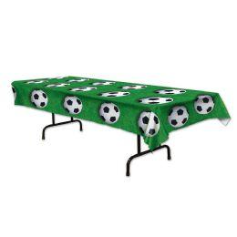 12 of Soccer Ball Tablecover plastic