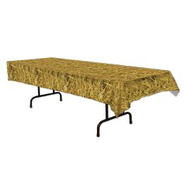 12 of Straw Tablecover plastic