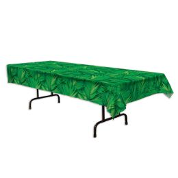 12 of Palm Leaf Tablecover plastic
