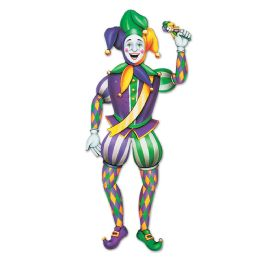 12 of Jointed Mardi Gras Jester