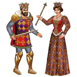 12 of Jointed Royal King & Queen Asstd Designs
