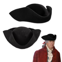 6 of Felt Tricorn Hat one size fits most
