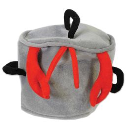 12 of Plush Boiling Pot Hat One Size Fits Most