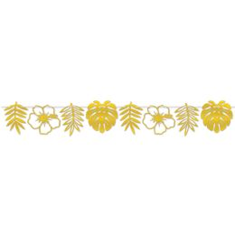 12 of Foil Die-Cut Floral Streamer assembly required
