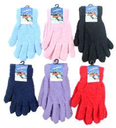 60 of Women's Fuzzy Gloves