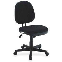 Lorell Contoured Back Tilt Task Chair
