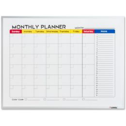 Lorell DrY-Erase Magnetic Planner Board