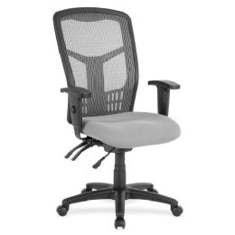 Lorell Ergomesh Seating Exec Mesh HigH-Back Chair