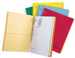 """20 of Tops Earthwise By Oxford 4 Subject Notebook, 11"""" X 8 7/8"""", 200 Sheets, College Ruled, Assorted Colors"""