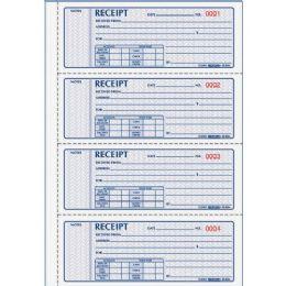 Rediform 3-Pt Carbonless Money Receipt Book