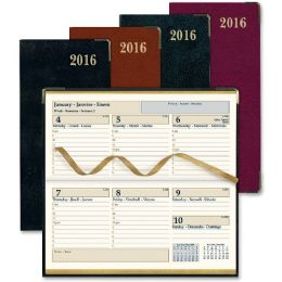 50 of Rediform Aristo Bonded Leather Weekly Executive Pocket Planners