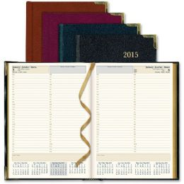 15 of Rediform Aristo BondeD-Leather Executive Daily Planner