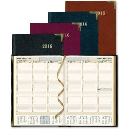 25 of Rediform Aristo BondeD-Leather Weekly Executive Planner