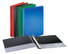 """12 of Cardinal Performer NoN-Locking Round Ring Binder, 1"""" Assorted Colors"""