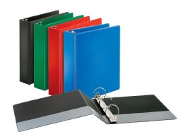"""12 of Cardinal Performer NoN-Locking Round Ring Binder, 2"""" Assorted Colors"""