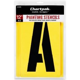11 of Chartpak Painting Stencil Set