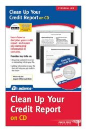 Clean Up Your Credit File, Cd Version