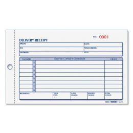 120 of Rediform Delivery Receipt Book