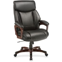 Lorell Executive Cushioned Spinning Chair