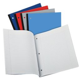 24 of Tops Oxford Coiless Notebook, 11 X 9, 1 Subject, Assorted Covers, 80 Sheets, College Ruled