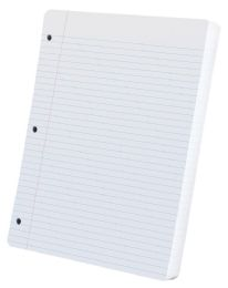 """20 of Tops Oxford Filler Paper, 11"""" X 8 1/2"""", White, College Ruled, 200 Sheets"""
