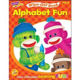 Trend Alphabet Fun Sock Monkeys Book Learning Printed Book