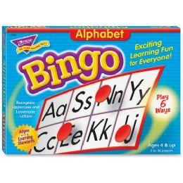 Trend Alphabet Learners' Bingo Game