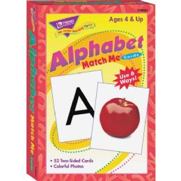 Trend Alphabet Match Me Flash Cards