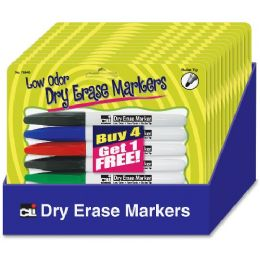 Cli Dry Erase Markers Set Display