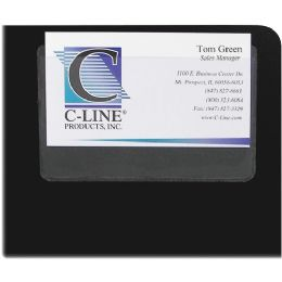 C-Line 70257 Top Load Business Card Holder