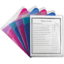 132 of C-Line Assorted Color MultI-Section Project Folders
