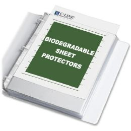 40 of C-Line Biodegradable Sheet Protector