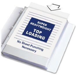 C-Line Polypropylene Top Loading Sheet Protector