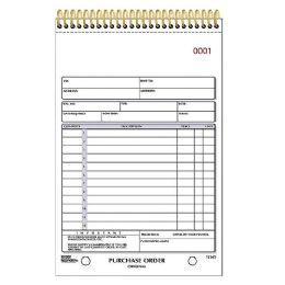 Rediform Gold Standard Purchase Order Book