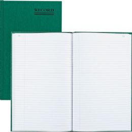 32 of Rediform Green Bookcloth Margin Record Books